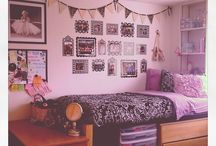 Dorm room ideas / by Charlotte