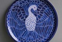 Blue White tableware