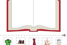 Busy Letter Books Worksheets
