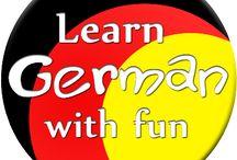 Learn German With Fun! / #deutsch #german #learning #lernen #daf #daz #deutschalsfremdsprache #deutschalszweitsprache #michaelamarx #unterrichtsmaterial #lehrmaterial