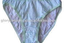 Cotton Sexy Thongs Women's Panties Plain Dyed paysya Clouth
