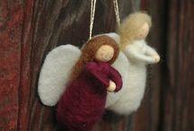 Angel ornaments / by Christina Dodd