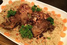 أطباق رئيسية  / وصفات عربية وأجنبية