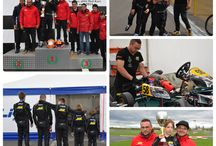 Trophies Window- Matia Curuia - Karting Romania / Romanian National Champion 2014 - PUFO FRK Romanian National Vice-Champion 2013 - Kid FRAS