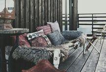 Winter Balcony