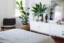 home sweet home: master bedroom / by Emily Kate @ Second Story Window