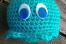 Amigurumi Crochet / Sculptural crochet in the form of amigurumi / by Crochet Concupiscence