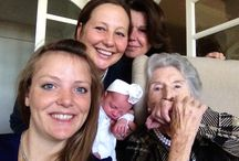 They are a five generation! Wonderful women's