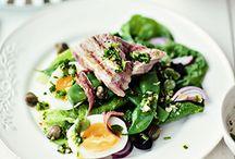 Jedzenie: sałatki i surówki