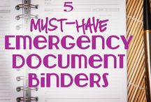 ORGANIZATION - EMERGENCY DOCUMENTS
