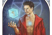 Avengers - Tarot cards