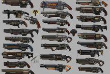 DIESELPUNK - Weapons