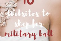 Military Ball Gowns & Etiquette