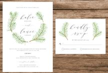 forest invitations