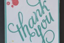 Thank You / A chance to express your gratitude.