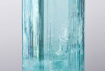 Natural gemstone crystal