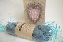 hand dyed yarn / hand dyed yarn käsinvärjätyt langat