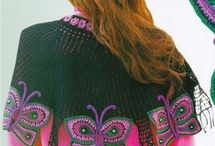 Crochet and Knit Butterflies