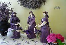 Csuhélányok, csuhéasszonyok / Saját alkotások csuhéból, természetes alapanyagokból