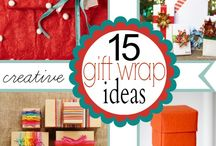 Gift Wrapping Ideas and Tags / by Heidi Vargas