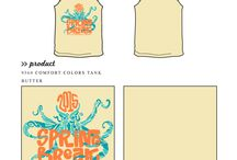 Spring Designs / Greek sorority and fraternity custom shirt designs featuring spring and spring break themes. For more information on screen printing or to get a proof for your next shirt order, visit www.jcgapparel.com