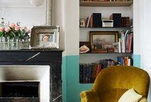 Living- interior design. Houses