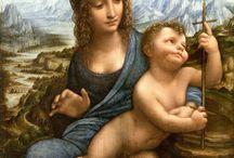 La vierge Marie dans l'art / Des représentations de la vierge Marie en peinture, sculpture, vitrail…