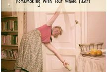 Homemaking Makeover / Homemaking is a lost art. It is a high calling. The most important occupation a woman can have. My home is a haven or rest for the souls that live in it. I want to intentionally keep my home with my whole heart, making a home that is glorifying to the Lord Jesus Christ.