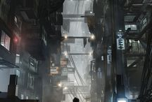 Deus Ex Landscapes / Screenshots - Concept Art