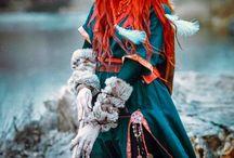 Viking priestess