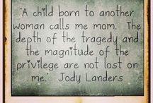Foster care/adoption <3 / by Krystal Salazar