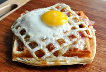waffle iron recipes / by Cheryl Neal
