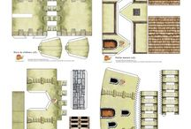 castles papercraft
