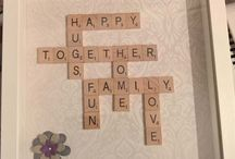 scrabble themed ideas
