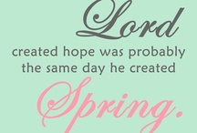 Spring/Easter Printables / by Kim Terrill