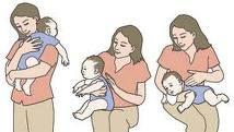 burping a newborn