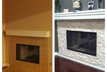 Updated fireplaces