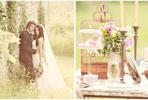 Styled wedding shoots