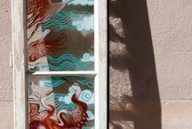 Window art by Moksye