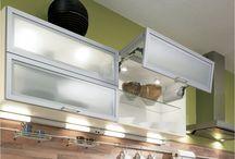Стекло в кухонном интерьере / варианты стеклянных фасадов в интерьере кухонь ALNO