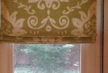 WINDOW TREATMENT PROJECTS / Client windows treatments featuring custom drapery, valances, shades, blinds and motorized window treatment installations.