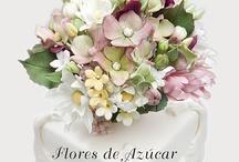 Flowers sugar