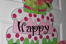 Door Hangers - Birthday
