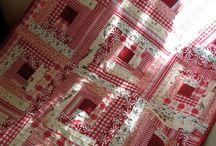 Red & white quilts / by Donna Richardson