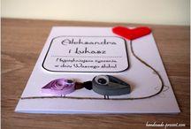 Kartki ręcznie robione / Wykonywane samodzielnie kartki na różne okazje: dla dziewczyny, chłopaka, mamy, przyjaciółki, babci, dziadka, żony, męża, z okazji ślubu, chrzcin, urodzin.