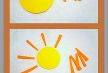 Weather preschool theme