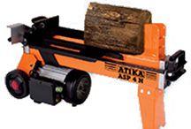 Altrad Atika Range / Hydraulic Log Splitter, Professional Wood Cutting Bench Saw, Professional Construction Circular Saw, Professional 400mm Log Saw, Professional 500mm mobile Log Saw, Petrol Garden Shredder, Small Professional Wood Saw
