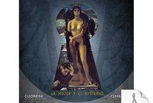 Mistérica Ars Secreta Nº 6 - La mujer y el misterio / Contenidos de la revista Mistérica 6, con las páginas iniciales de los artículos