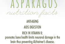 Nutrition Facts : health benefits of asparagus