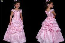 udklædning / prinsessekjole